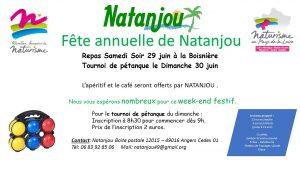 Fête annuelle de NATANJOU